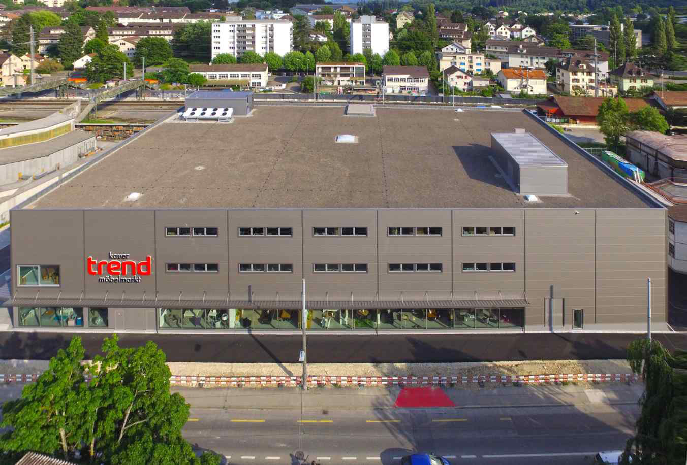Kauer Trend Möbelmarkt Ag Biel Baut Neu H Plan Ag
