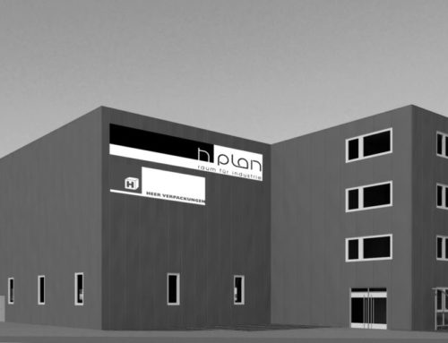 Neubau Gewerbehalle mit Bürogebäude – Südstrasse 29 Lyss