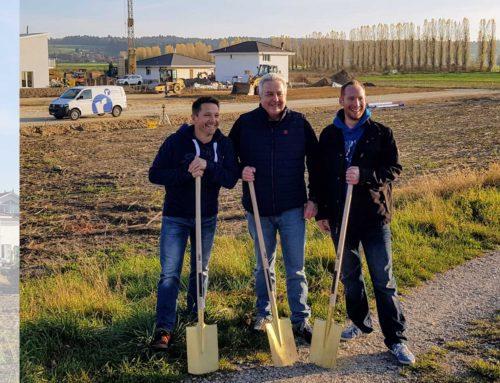 Rihs GmbH; Spatensticht in Dotzigen am 1.11.17